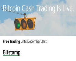 Bitstamp to launch bitcoin cash trading