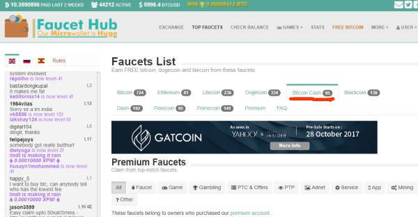 Cryptocurrency Exchange Work Crypto Faucet List