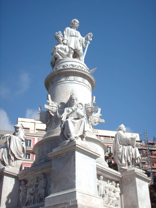 Monumento a cristoforo colombo - Genova porta principe ...