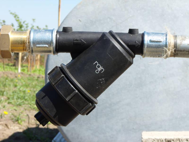 Foto filtro a rete per acqua di pozzo for Filtro per irrigazione
