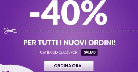 SALE40 codice sconto Hostinger.it Web Host