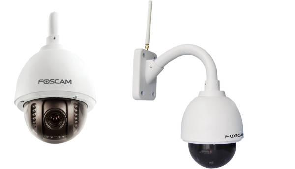 Telecamera ip wifi motorizzata hd da esterno con infrarossi for Telecamere da esterno casa