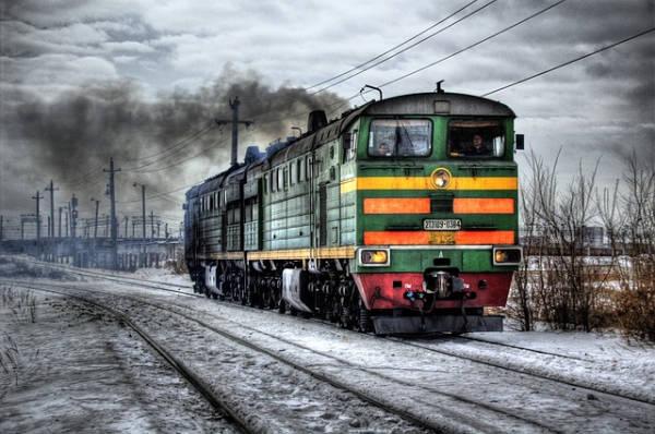 il viaggio in treno